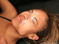 Ghetto Gaggers Lacey Duvalle - Lacey Duvalle gets her first taste of extreme porn